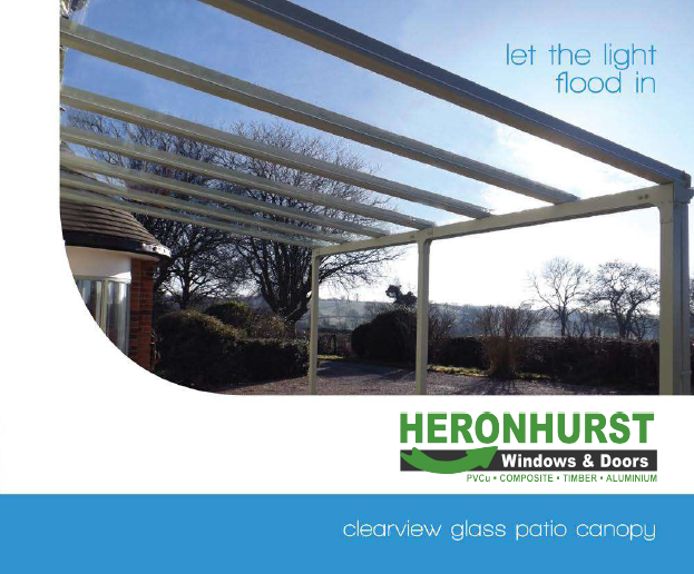 Clearview Glass Canopy Brochure