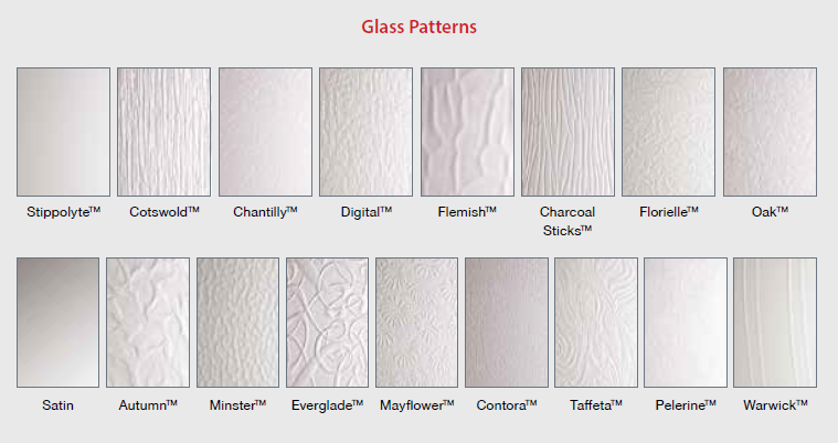 Door Glazing Patterns Amp Leaded Glass Doors With Frosted