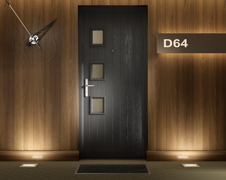 FD30 Fire Composite Door