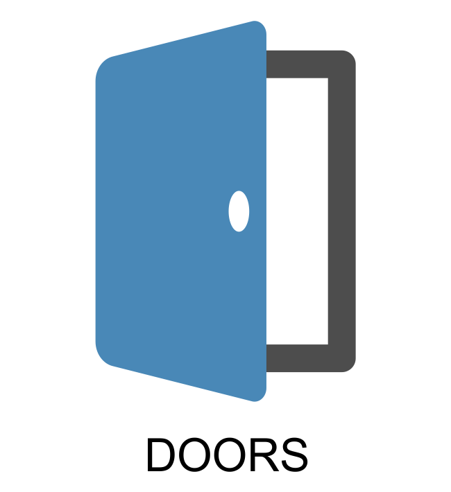 Doors in Composite, PVCu, Aluminium and Timber