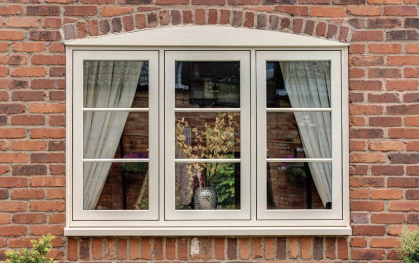 Heritage Flush Timber Alternative Casement Windows
