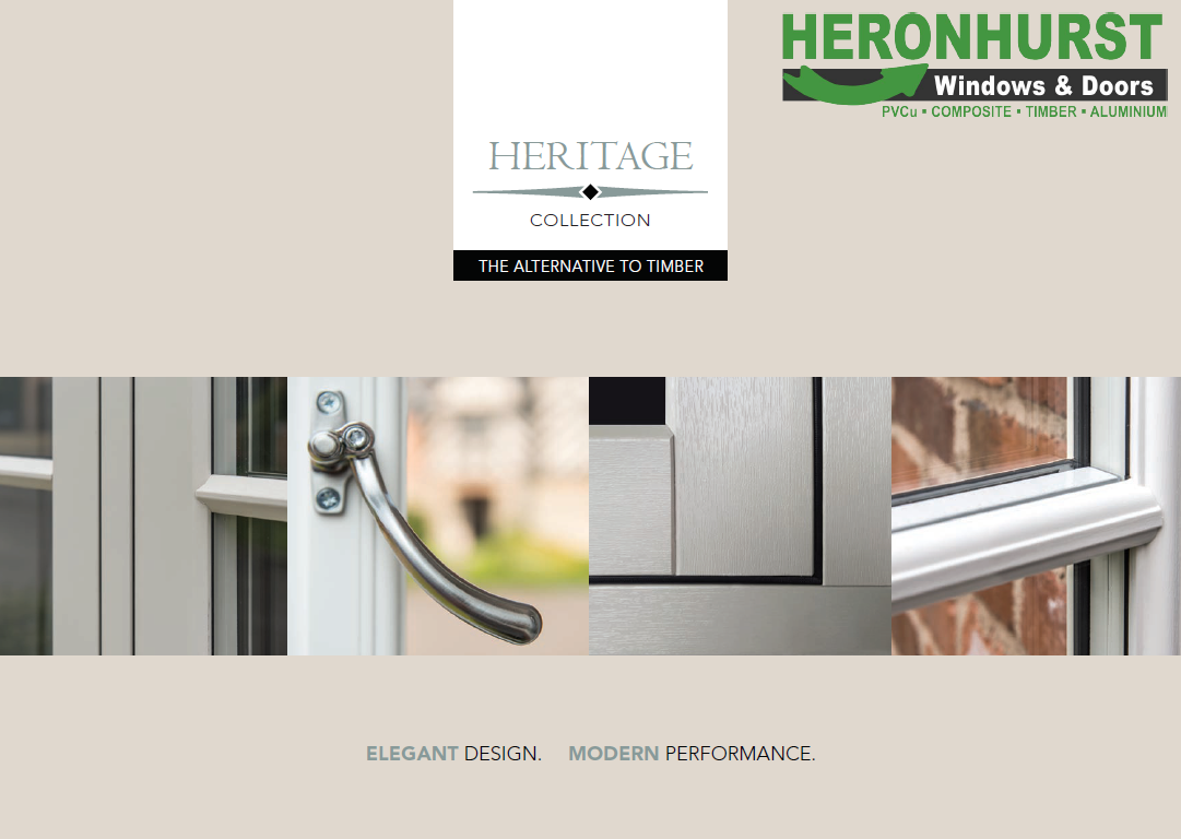 Heritage Timber Alternative Window and Door Brochure