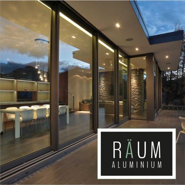 Raum Premium Aluminium Sliding Patio Doors - Slimline and Wide Span