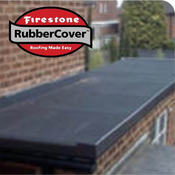 RubberCover EPDM Rubber Roofing for Flat Roof Replacement