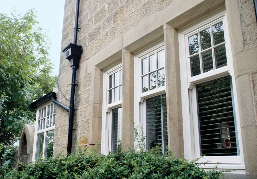 Iconic Vertical Sliding Sash Windows PVCu