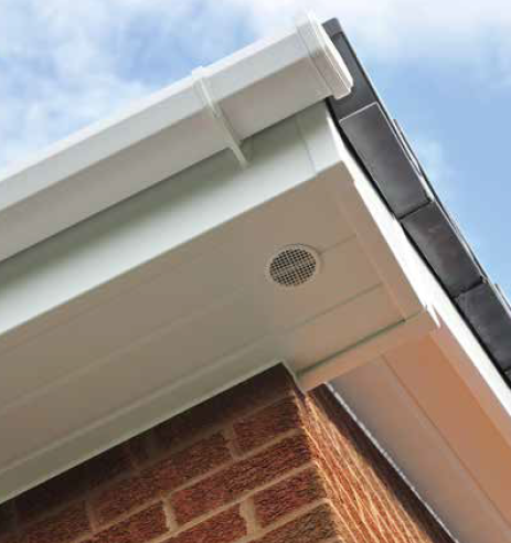 Roofline - Fascia, Soffit, Guttering, Downpipe and Cladding