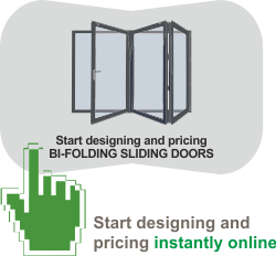 Instant Bi-Folding Door Designer and Pricing Quoter