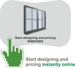 Instant Window Designer and Pricing Quoter