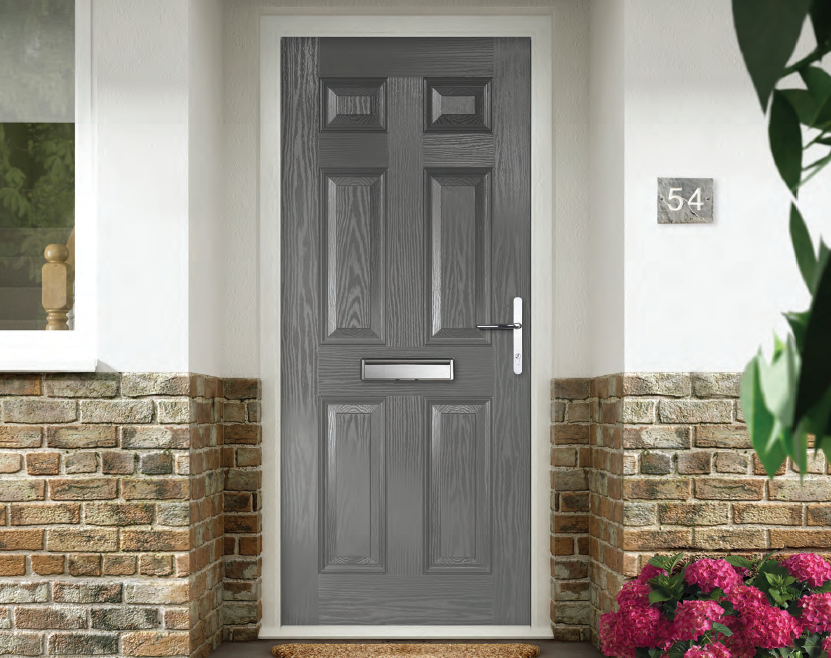 The Ultimate Composite Door - Double Rebated, every RAL colour