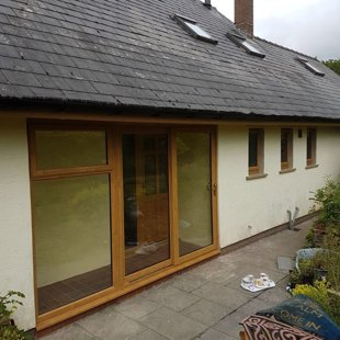 Duraflex PVCu Irish Oak