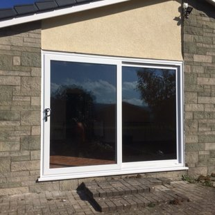 Duraflex PVCu Smooth White Patio Doors