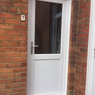The Gentles in Lydney - Duraflex PVCu Door