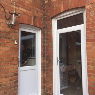 The Gentles in Lydney - Duraflex PVCu Doors