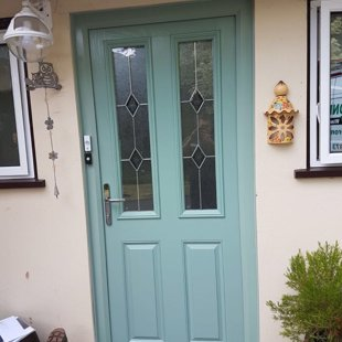 Door-Stop Door in Chartwell Green - 3rd on the same house!
