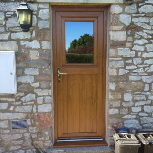 Antique Oak Stable Style PVCu Door