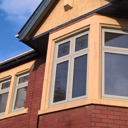 Flush Casement Windows for the Roberts family of Newport