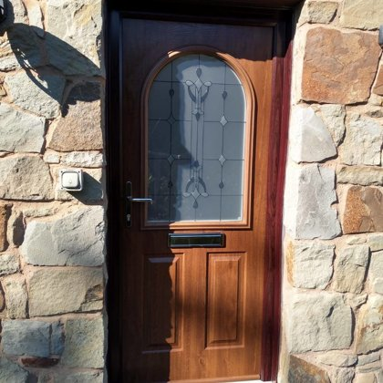 Walnut Solidor with Rosewood Frame for the Hazelby's of Brecon