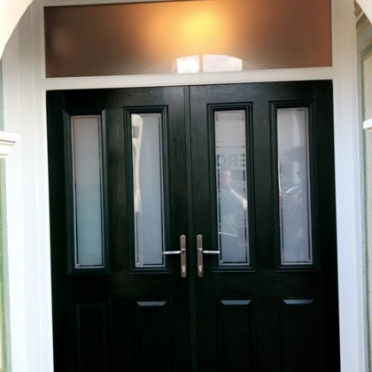 Mr and Mrs Fothergill, Newport Solidor French Composite Doors