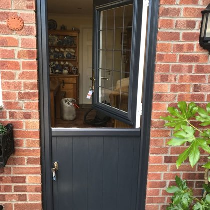 Mr and Mrs Morgan Aberdare Solidor Stable Door