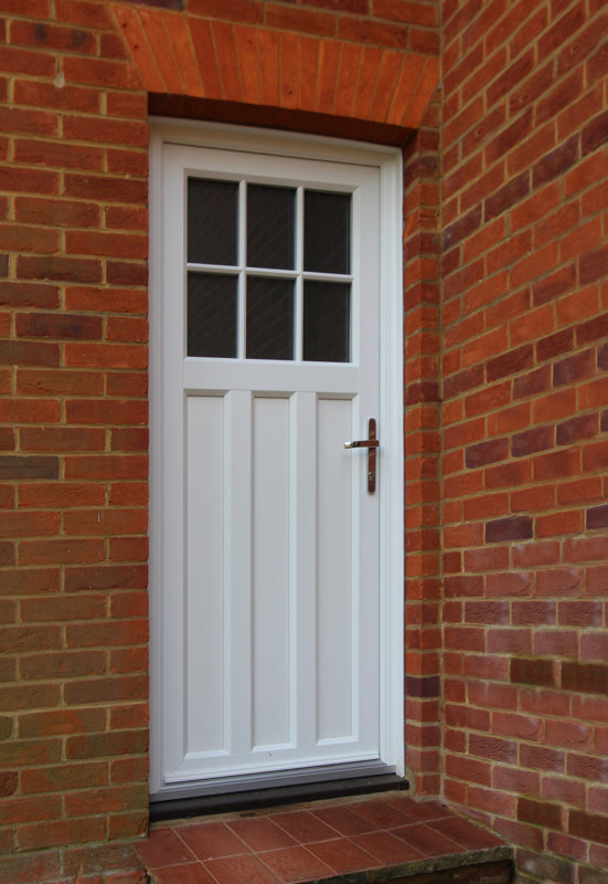 PVCu Framed Doors