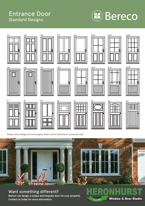 Bereco Entrance Door Style Sheet