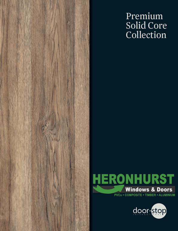 Door-Stop Solid Core Brochure