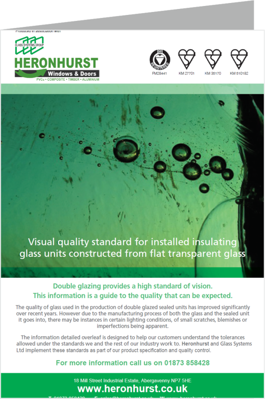 Glass Visual Standards Information Leaflet