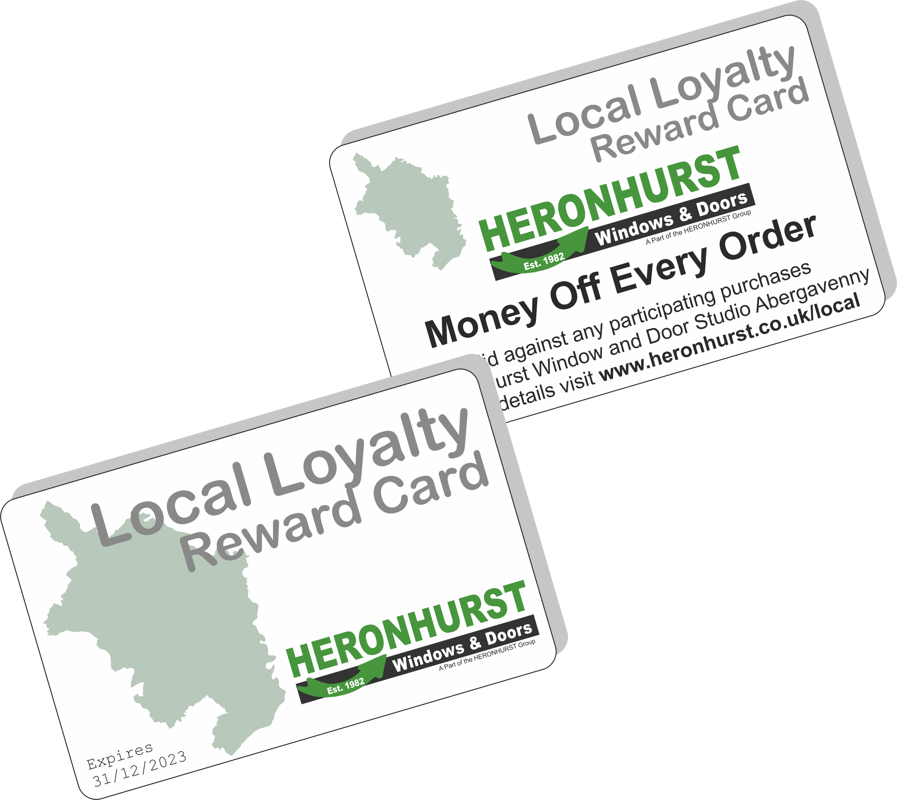 Shop-Local for your Windows and Doors and SAVE with Heronhurst Abergavenny