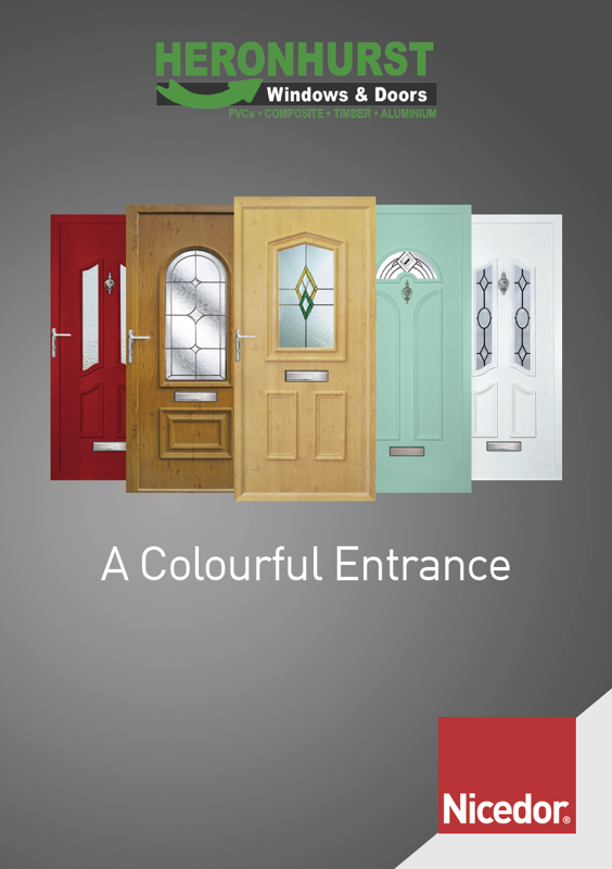 Nicedor Door PVCu Door Panel Brochure