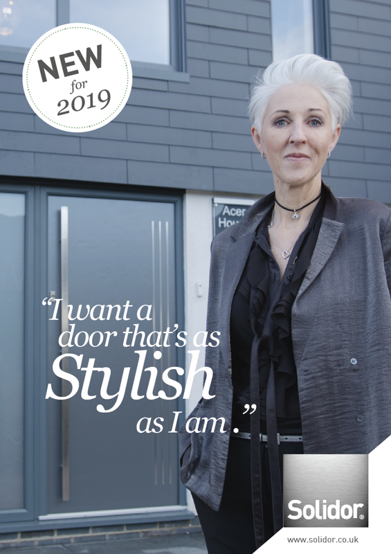 Download the Solidor Contemporary Range of Composite Doors 2019 Edition
