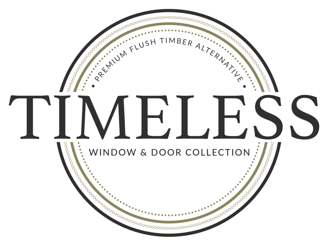 Timeless Flush Casement Window System Timber like joint