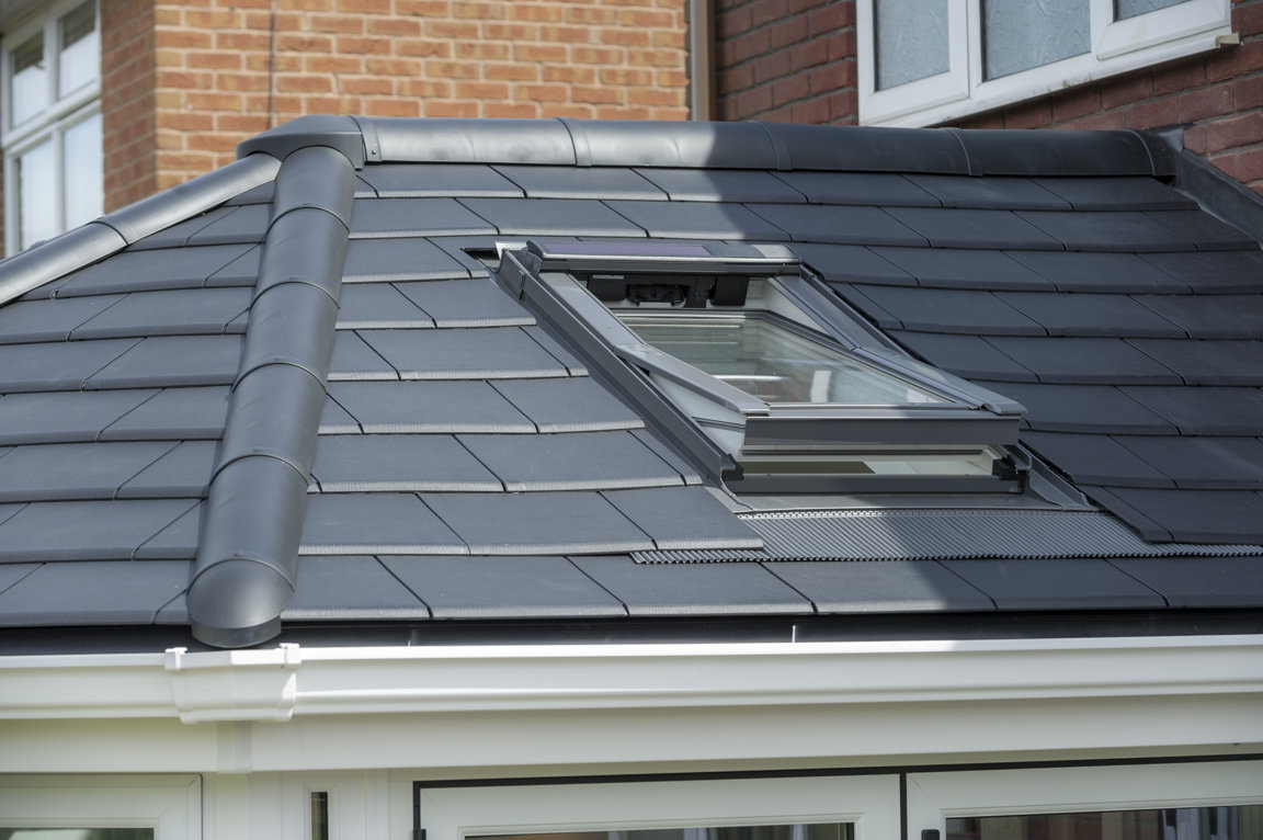 Conservatory Solid Roof Replacement Tiled or Slate