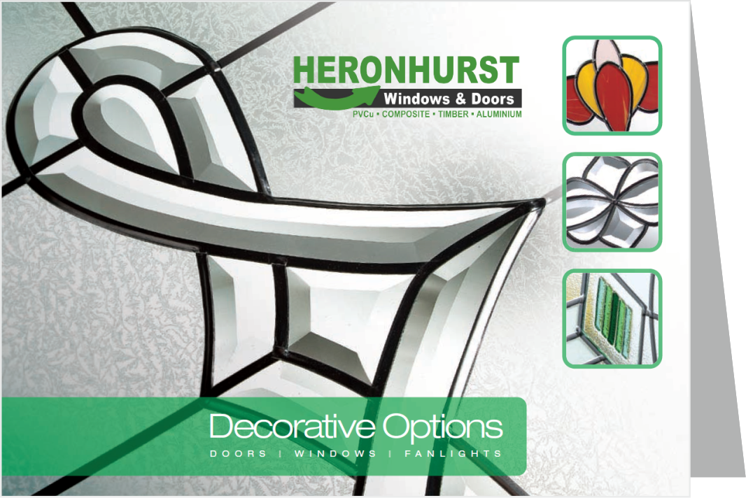 Decorative Glass Brochure including Leads, Stains and Bevels
