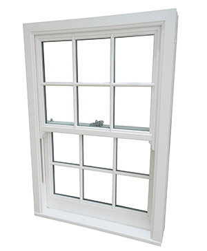 PVCu Vertical Sliding Sash Installation