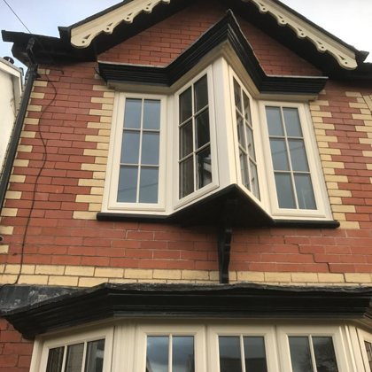 Cream Lipped Casements installed in Abergavenny for the Wilsons