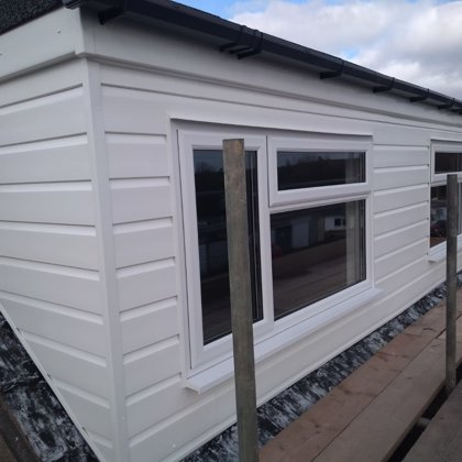 Cladding and Roofline for the Horgans of Pontypool