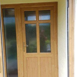Irish Oak PVCu Door 6 Panel