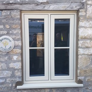 Heritage Flush Casements in Agate Grey - for Mr and Mrs Turner, Malmesbury