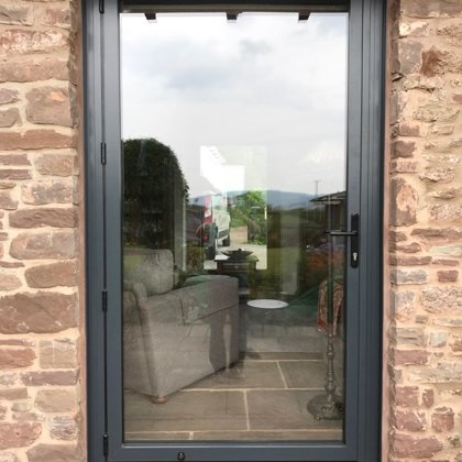 The Griffiths' Monmouth Re-AL Smart Aluminium Windows and Doors