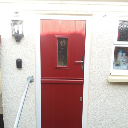 Stable Door for the Maxted's of Gilwern