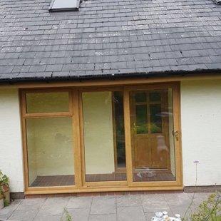 Duraflex PVCu Irish Oak