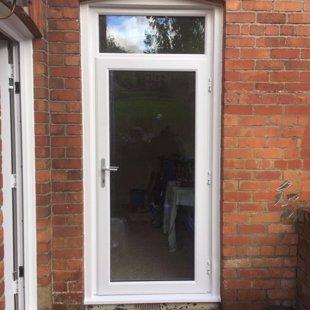 The Gentles in Lydney - Duraflex PVCu Door