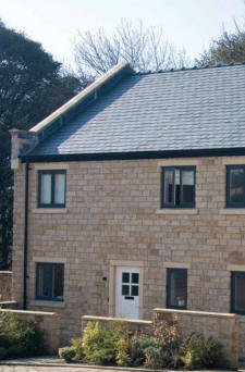 Bereco Real Timber Windows in Anthracite Grey