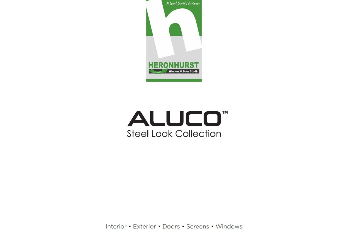 Aluco Steel-Look Aluminium Window and Door Brochure