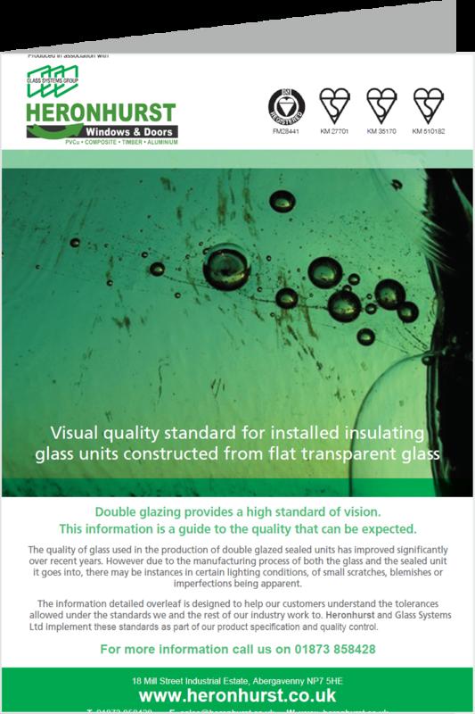 Glass Visual Standards Information Leaflet
