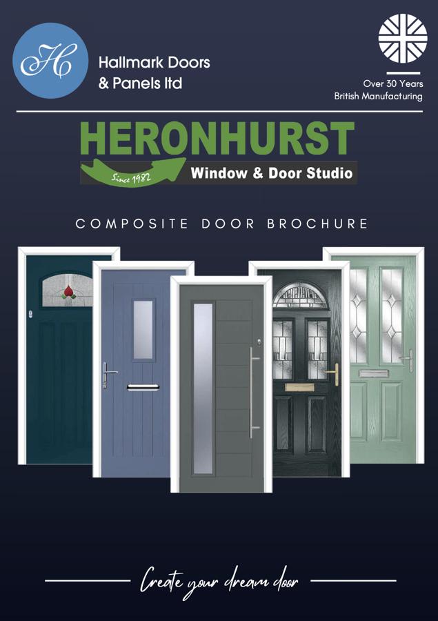 Hallmark Colourlines Composite Door Brochure