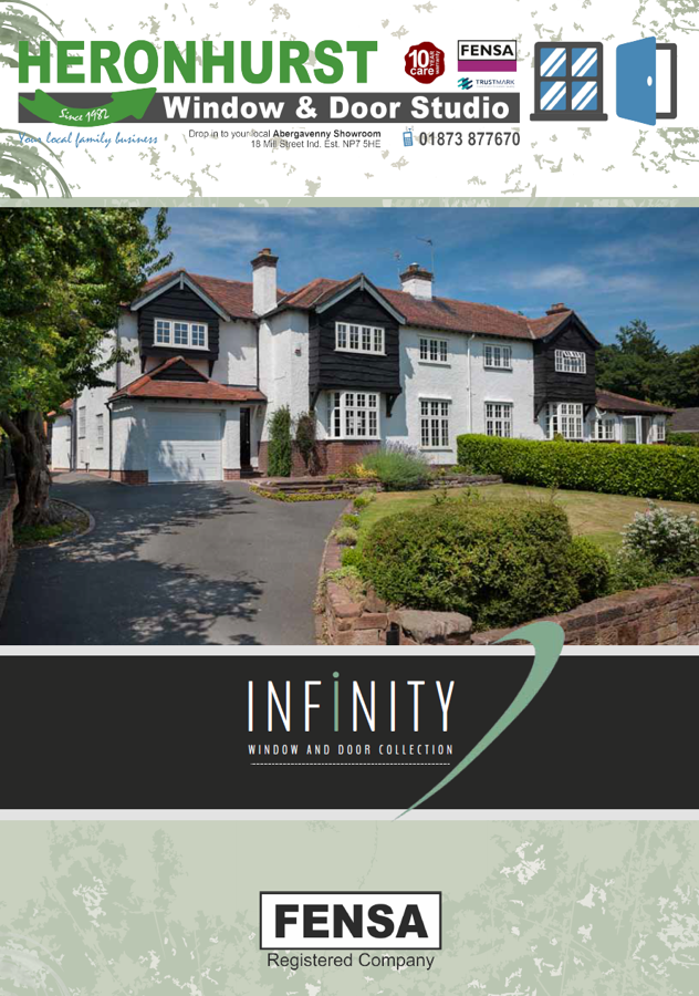 Infinity Window and Door Collection Brochure