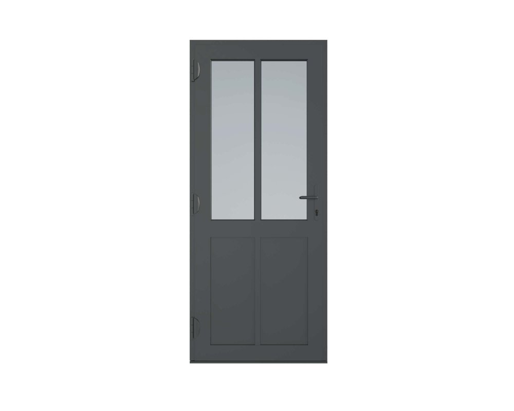 Aluminium Framed and Glazed Entrance Doors